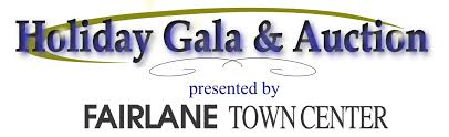 holiday gala auction presented and hosted by fairlane town center holiday gala logo 2016