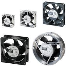 <b>Long Life</b>, Compact <b>DC</b> Input Axial Fans - MDE Series