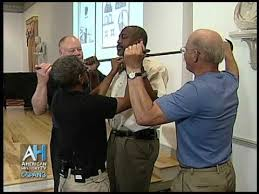 Demonstration of a <b>Slave Collar</b> - Historian Anthony Cohen - YouTube