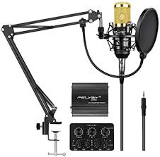 FELYBY Professional Condenser Microphone ... - Amazon.com