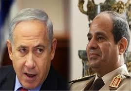 Image result for طرح السیسی برای سازش با اسرائیل