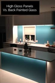 painted kitchen backsplash