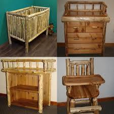 rustic baby furniture baby nursery rockers rustic