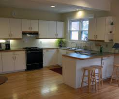 astounding u shape white polished solid wood kitchen cabinet with bronze hardware pull handle and brown home brown solid wood shape home