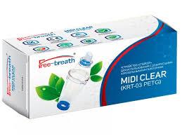 <b>Спейсер Free</b>-<b>breath</b> для ингаляций <b>Midi Clear</b> - купить в детском ...