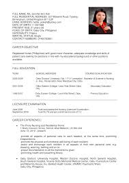 resume for nurses template nursing cv samples gallery photos sample resume for nursing aide with no sample resume for nursing aide