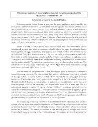 example of expository essay writing template example of expository essay writing