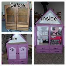 diy barbie house convert a cupboard into a barbie house you can put your barbie barbie furniture for dollhouse