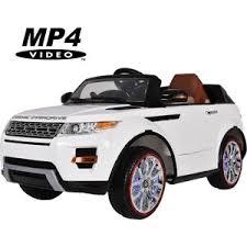 <b>Электромобиль Hollicy Range</b> Rover Luxury White MP4 12V ...