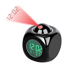 Faxiang <b>Digital Alarm Clock Multifunction</b> with Voice Talking LED ...