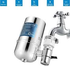 PARMPH <b>Faucet Water Purifier</b>, Stainlee Steel <b>Front</b> Water Filter ...