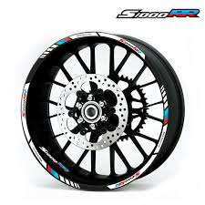 <b>High quality</b> Motorcycle wheel decals Reflective stickers rim stripes ...
