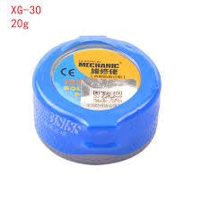 Online Shop <b>Soldering Paste Flux XG-80</b> XG-50 XG-30 XG-Z40 ...