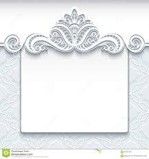 white lace background wedding invitation template stock vector white lace background wedding invitation template stock images