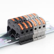 Wago Type <b>5PCS SPL-1 PCT-211 Rail</b> Type Quick Connection ...