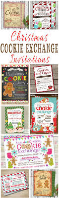 17 best ideas about christmas party invitations 25 christmas cookie exchange party invitations