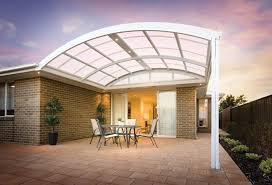 curved patio roof designs design ideas  images about stratco outback curved roof patio on pinterest patio the