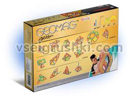 Магнитный <b>конструктор</b> «<b>Glitter 68</b> деталей» <b>Geomag</b>: купить с ...