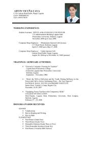 examples of resumes resume for work write a no experience 81 excellent resume for work examples of resumes