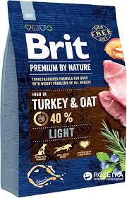 <b>Brit Premium</b> by Nature Light <b>Turkey</b> 3kg - 1a.lv