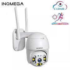 INQMEGA <b>1080P</b> 360° PTZ Waterproof IP Camera H.264 <b>HD</b> Night ...