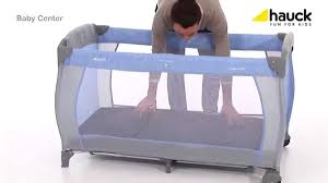 Hauck <b>Baby</b> Center <b>Travel</b> Cot - How To <b>Fold</b> and Build | BabySecurity