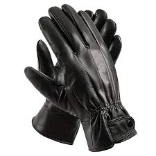 Anccion Men's Genuine <b>Leather</b> Warm Lined Driving <b>Gloves</b> ...