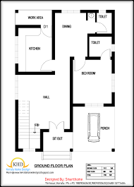 House plan and elevation   Sq  Ft    Kerala home design and     square meter   Sq Ft  house plan   October