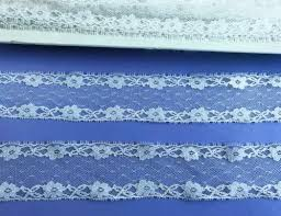 Vintage Lace Trim White 1 1/2 inch Wide Galoon <b>8 Yards</b> Sewing ...