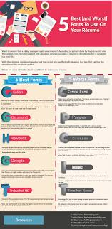 writing a cv 5 best worst fonts to use jarushub ia s cv infographic 2