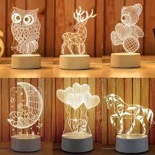 Creative <b>LED</b> 3D Universe <b>Novelty Lighting</b> 2019 New Acrylic Touch ...
