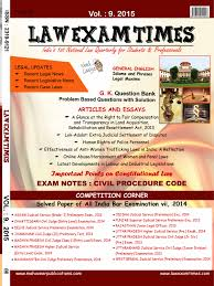 law exam times vol mahaveer publications book