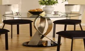 Round Glass Dining Room Table Sets Apartment 5 Piece Table Set Small Apartment Dining Room Ideas