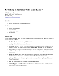 templates for resumes resume templates for how resume in word word resume professional resume format in word microsoft office 2007 resume templates