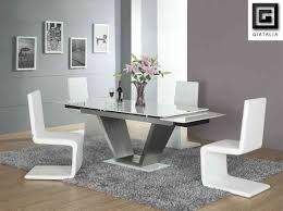 Modern White Dining Room Set Agreeable Modern White Dining Table Set Cool Dining Room