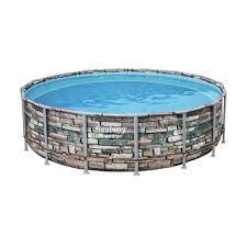 Каркасный <b>бассейн Bestway</b> Loft 56886 (<b>549х132</b>) с картриджным ...