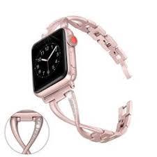 Apple <b>Watch Band</b>, <b>Luxury</b> Bling <b>Crystal</b> diamond, Stainless Steel ...