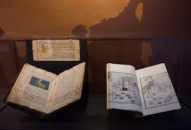 a curator s curiosity at an l a landmark transformed into an three rare handmade books from asia depicting mercury