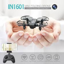 Linxtech <b>IN1601</b> 720P Wifi FPV Cute Selfie <b>Mini</b> Drone with Camera ...