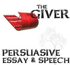 images about teaching the giver by lois lowry on pinterest    giver essay and speech  persuasive  students are given  persuasive topics about the giver