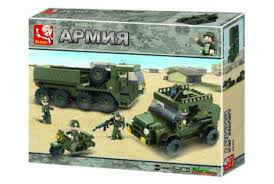 <b>Конструктор</b> Sluban Инженерные войска M38-B0307