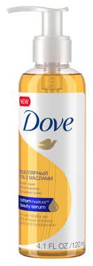 Dove <b>мицеллярный гель для</b> снятия макияжа с маслами — купить ...