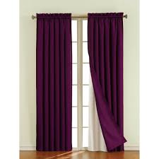 Purple Living Room Curtains Interior Design Brown Window Blackout Curtain For Stylish Living