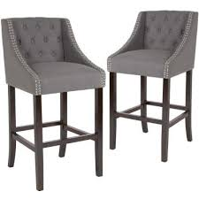 <b>Gray</b> - Bar <b>Stools</b> - Kitchen & Dining Room Furniture - The Home ...