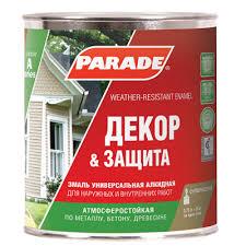 <b>Эмаль PARADE А1</b> Декор & Защита база С матовая 2,5л купить в ...