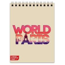 "<b>Блокнот</b> ""<b>DIFFERENT WORLD</b>"": Paris #1323655 от Octopuslabel"