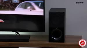 2.1-канальный саундбар <b>Sony HT</b>-<b>CT390</b> - YouTube