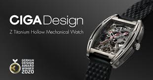 <b>CIGA Design</b> Z-Series <b>Mechanical</b> Titanium Watch | Indiegogo
