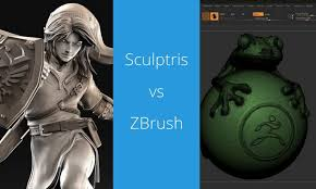 <b>Battle</b> of Software: Sculptris <b>vs</b> ZBrush | 3D <b>Printing</b> Today - 3D ...