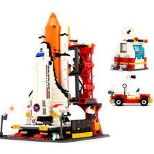 Toys & Hobbies Lego Shuttle Launch Center <b>City Spaceport Space</b> ...